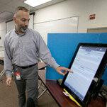 No, Dominion voting machines did not delete Trump votes.