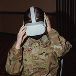Air Force Tries Virtual Reality to Stem Suicide and Sexual Assault