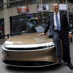 Lucid Motors beats Tesla in range, going 520 miles on a charge, the E.P.A. says.